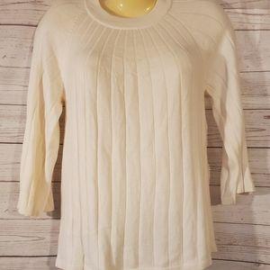 Ann Taylor LOFT White Sweater